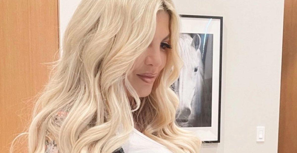 tori spelling makes an announcement she made six times before...and people are thrilled for her