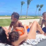 Kim Kardashian West Gets Relatable on Instagram While on Spring Break With Kids