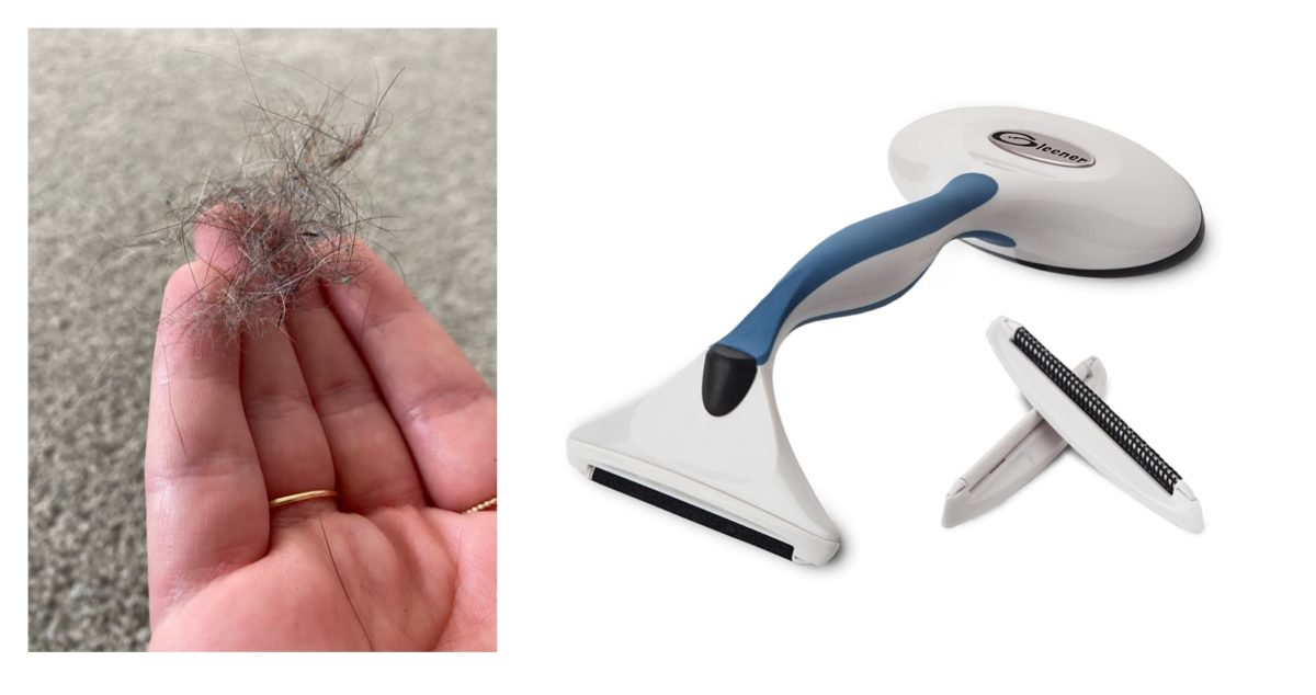 if you have a furry pet, you need this $20 tool that will question why you vacuum at all