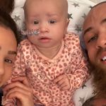 Reality Star Ashley Cain Opens Up About 8-Month-Old Daughter's Battle With Cancer