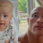 The Rock Sends Powerful and Emotional Message to Reality Star Ashley Cain and His 'Little Lion' As She Continues to Fight Cancer