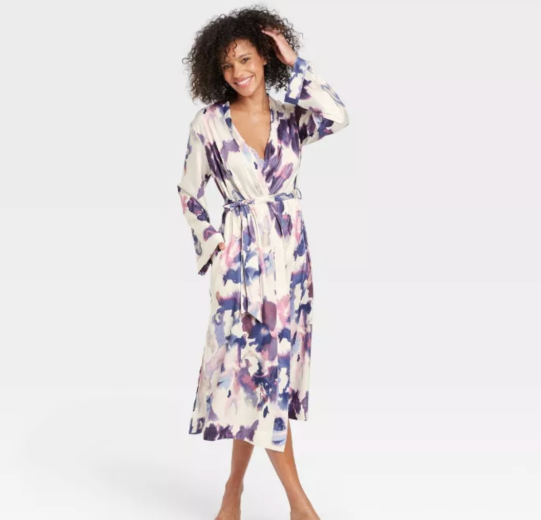 remember that awesome pj set from target, get this target robe to go with it for the perfect mother's day gift