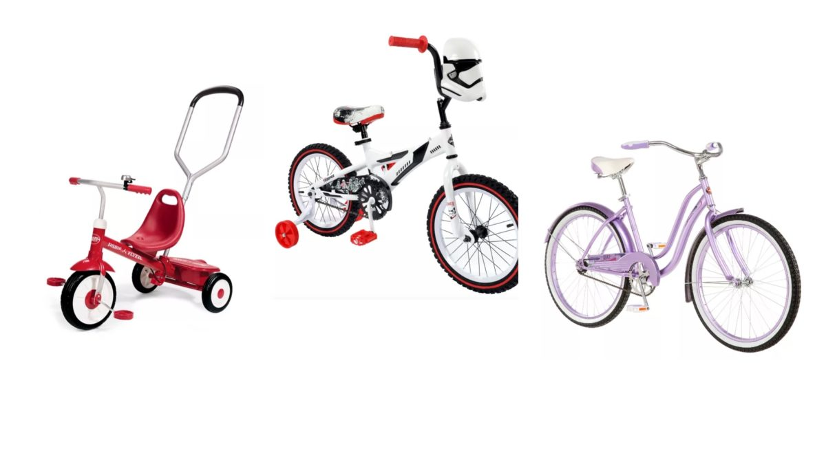 it's summer time: so let's get those little ones outside and on brand new bikes from target