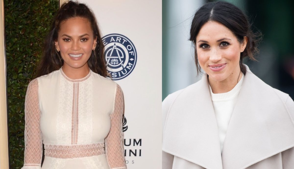 just moms supporting moms: chrissy teigen reveals meghan markle has been 'so kind' following jack's death