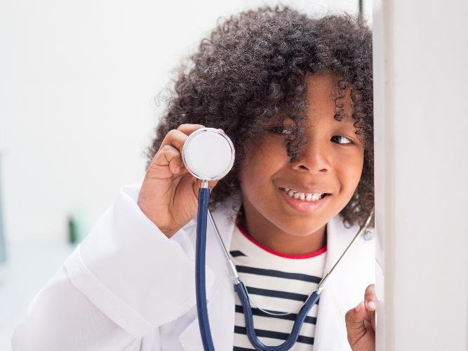 tiktok toddler-doctor, harmony, is instant serotonin