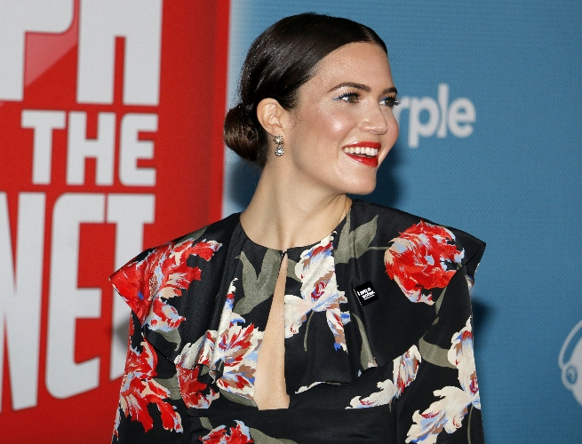 mandy moore shares lingering health issue after birth of son