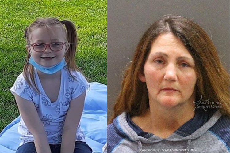 idaho grandmother charged with multiple felonies following the discovery of missing granddaughter's body on her property