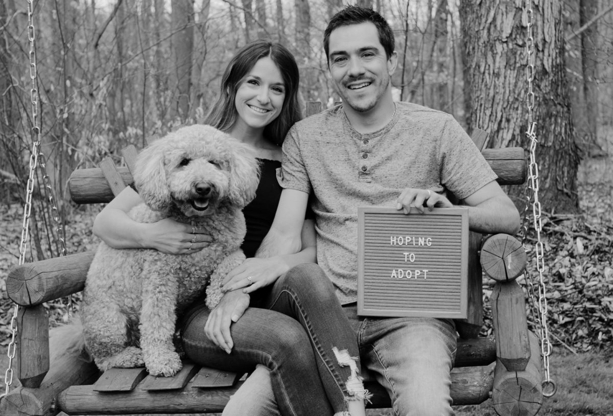 adoption sans agency — this young couple is eager to start their family