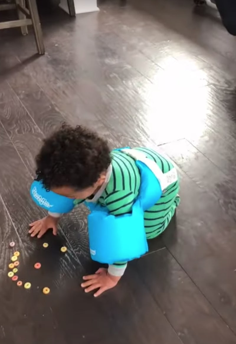dad shares 'clever' tiktok trick that stops toddlers from eating off the floor