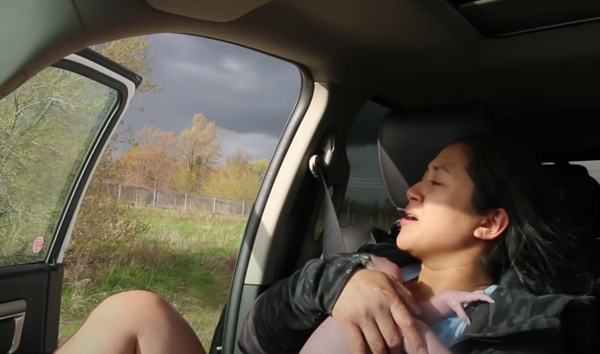 dash cam video of mom giving birth in truck goes viral