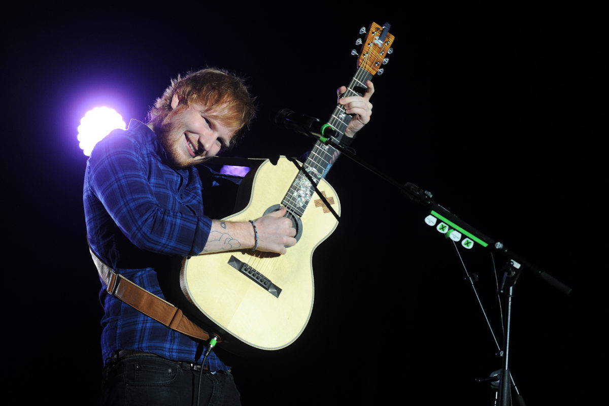 ed sheeran admits his 9-month-old daughter isn't a huge fan of his new music