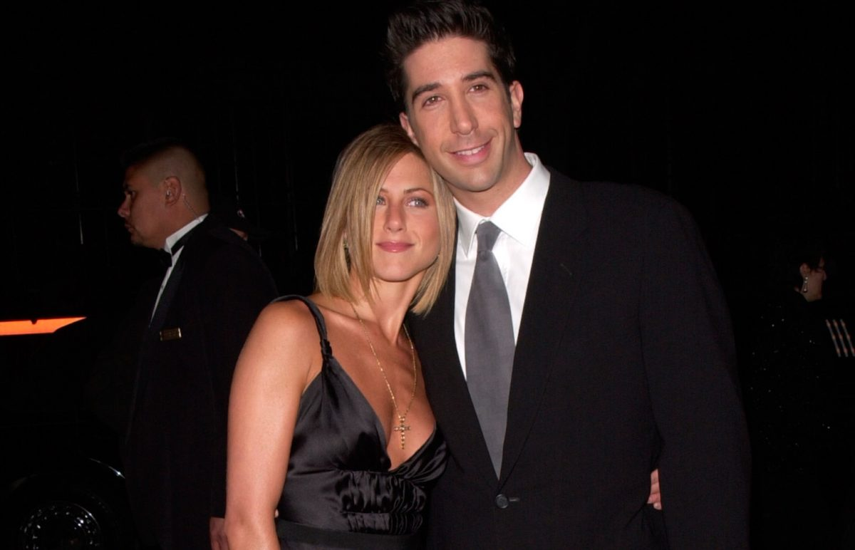 jennifer aniston and david schwimmer reveal how their onscreen chemistry affected their real-life relationship with each other