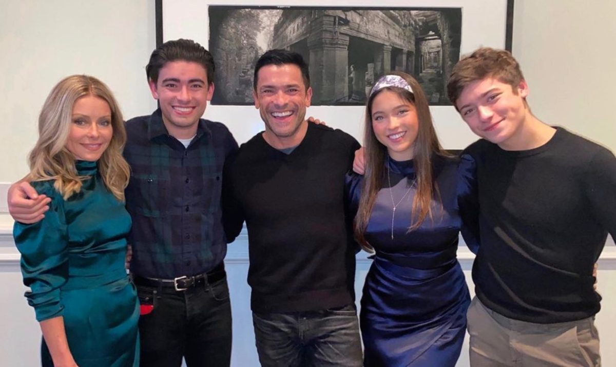 mark consuelos and kelly ripa's son joaquin goes off to prom before going off to michigan to wrestle in college | can you believe kelly ripa's youngest is 18?