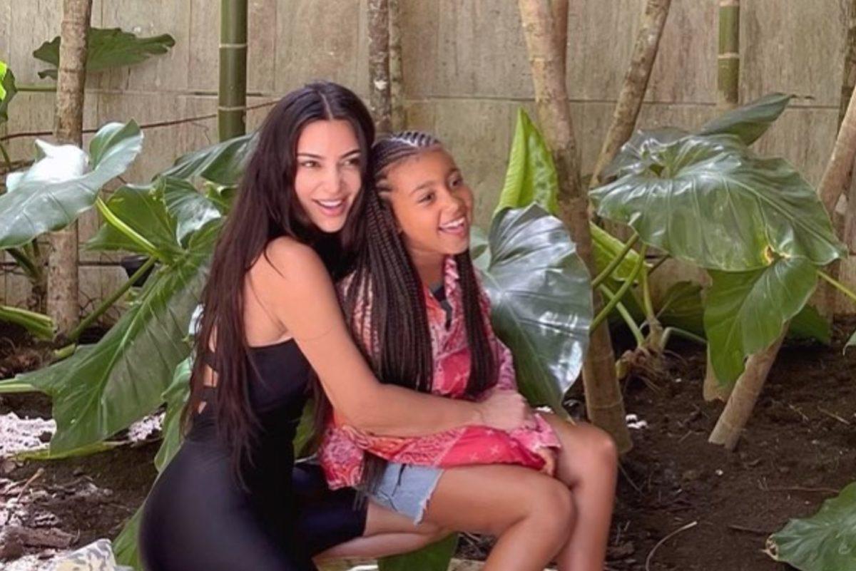 north west calls out mom kim kardashian after she praises olivia rodrigo's 'drivers license'