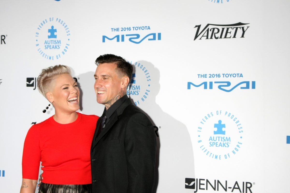 pink doesn't shy away about her long-term marriage