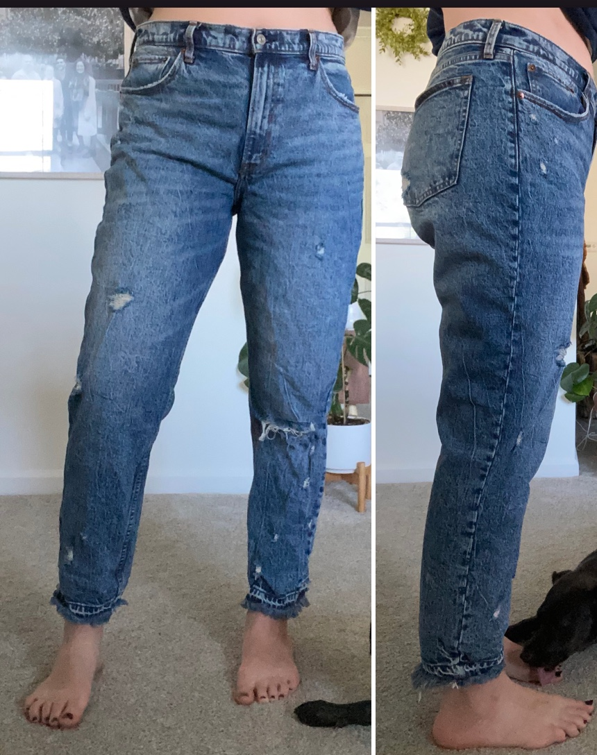quality, stylish, comfortable jeans from abercrombie & fitch that cost just $40...yeah, you're going to want these | these jeans are amazing!