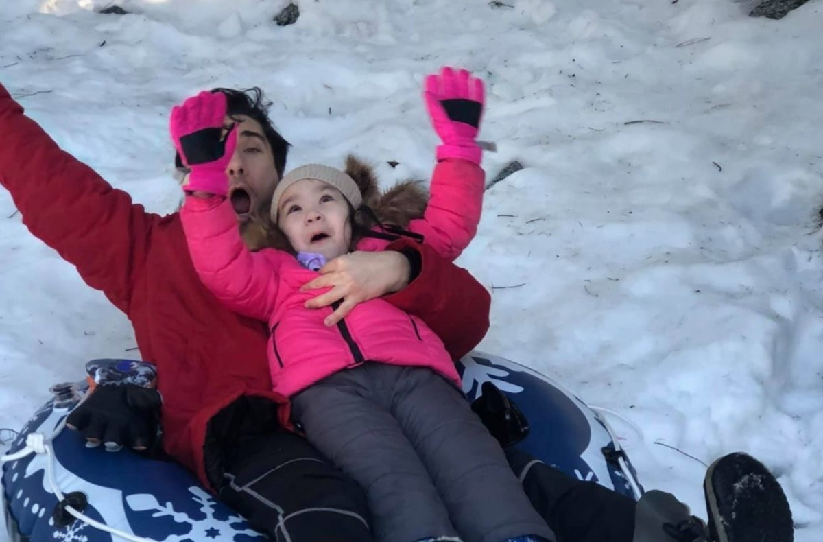 sledding accident kills mom, 4-year-old daughter in a coma