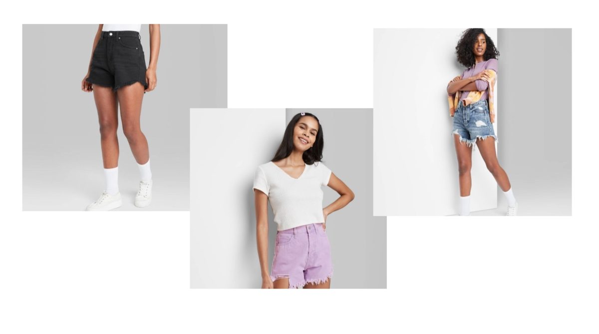 these jean shorts from target are $15 and your teen will love them