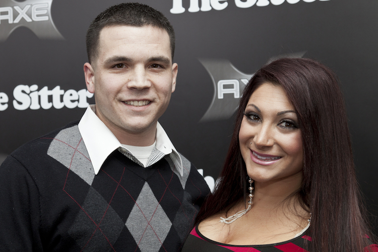 jersey shore's deena cortese welcomes second baby, son cameron, with husband chris buckner
