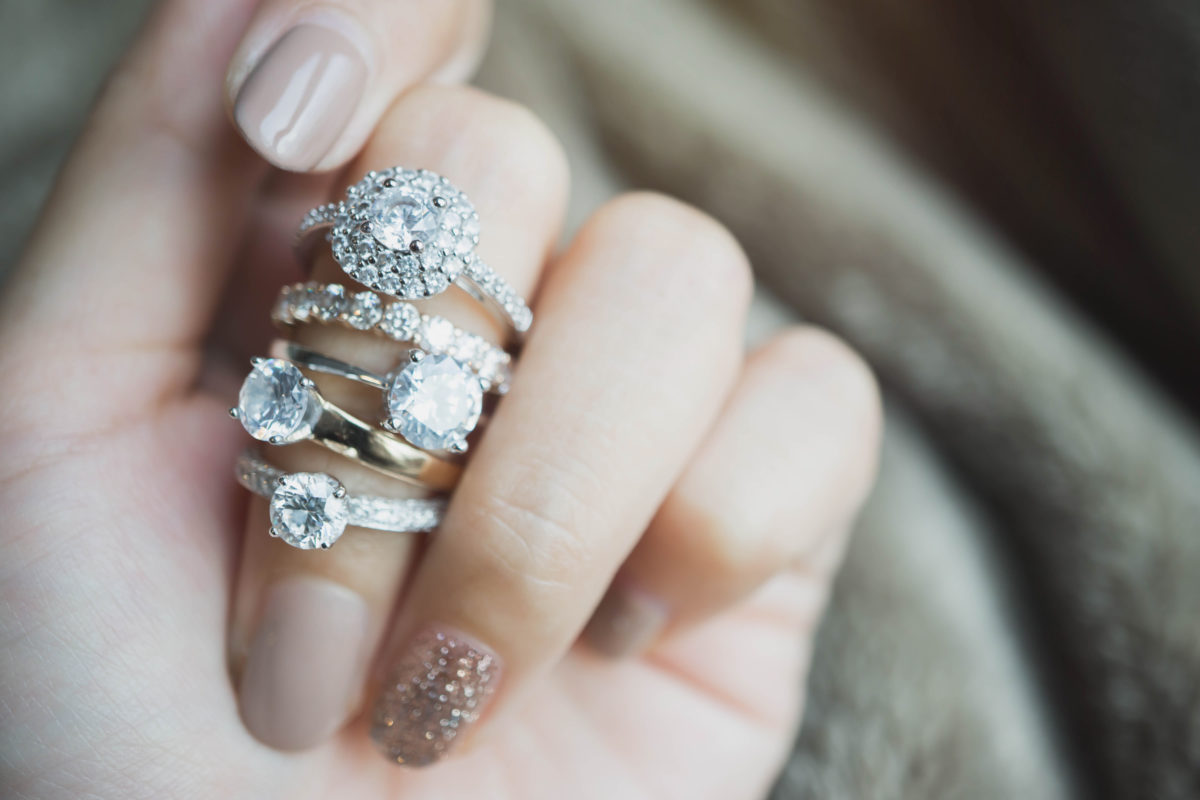 am i in the wrong for buying and wearing diamond rings despite not being married?