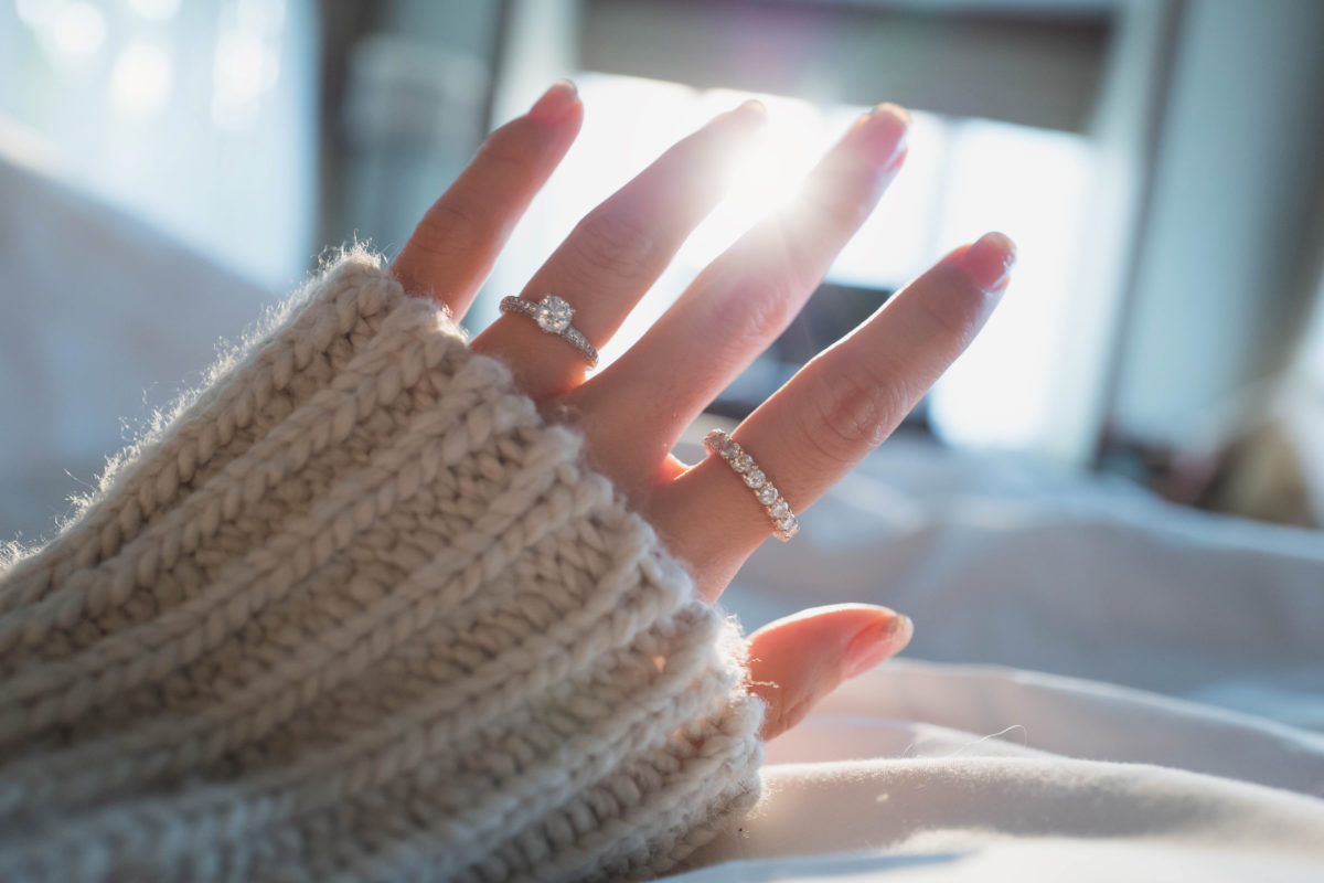 am i in the wrong for buying and wearing diamond rings despite not being married?3