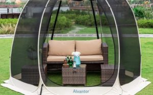 don't let the cicadas ruin your summer, get this pop up gazebo to keep enjoying your time outdoors
