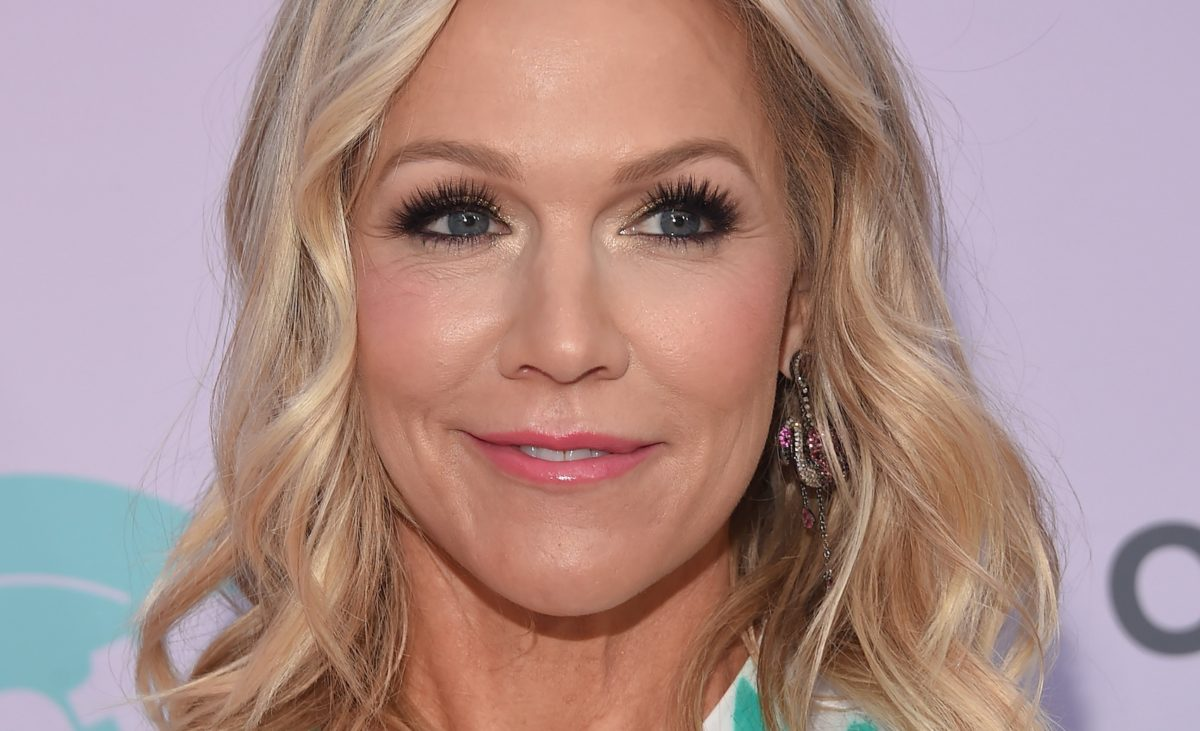 jennie garth sent her daughter to prom 2021 in a lovely homemade dress she made1