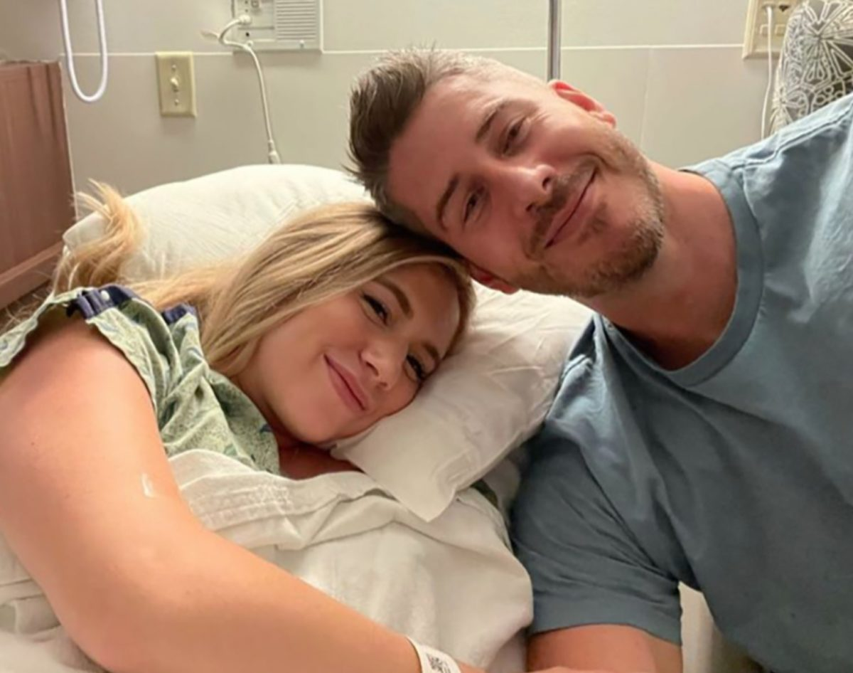 lauren burnham and arie luyendyk jr. welcome twins: 'spending time cherishing these moments'