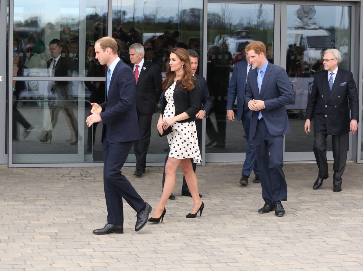 prince harry and prince william get into a heated argument at prince philip's funeral