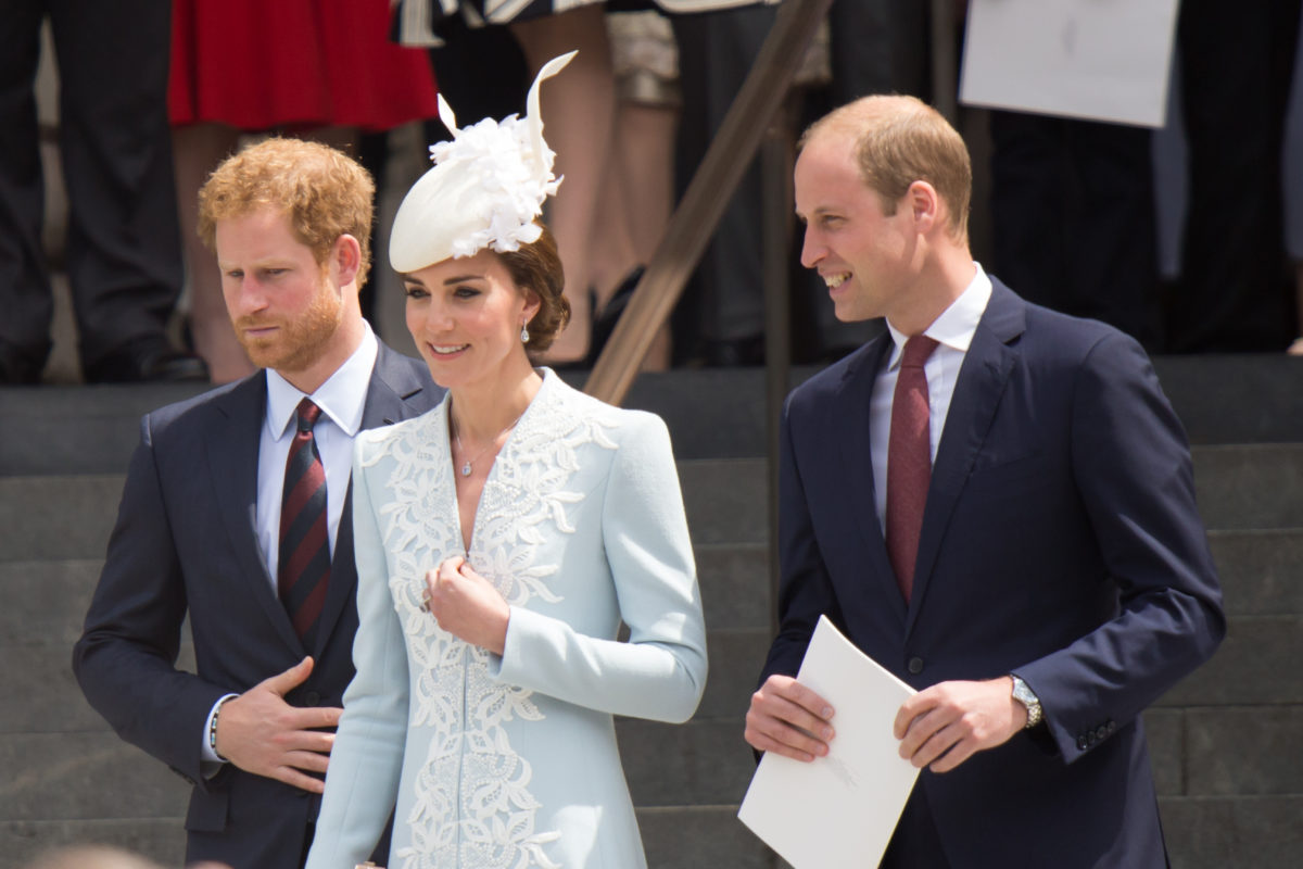 prince harry and prince william get into a heated argument at prince philip's funeral3