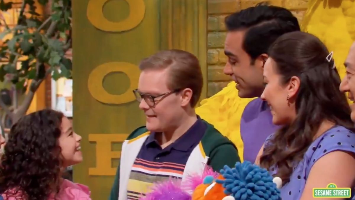 sesame street proudly introduces 2 gay dads and their daughter