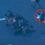 Watch as Father Throw Infant Into the Arms of an Officer, Gets Tackled By Police Following Lengthy High-Speed Chase