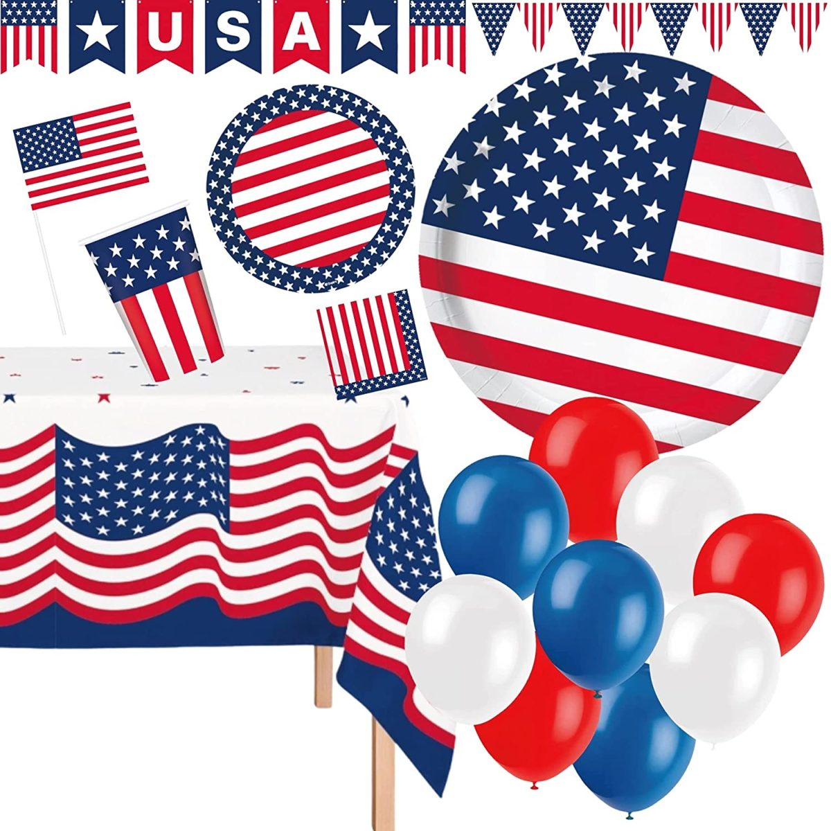 feeling a little unprepared for the fourth? we have you covered