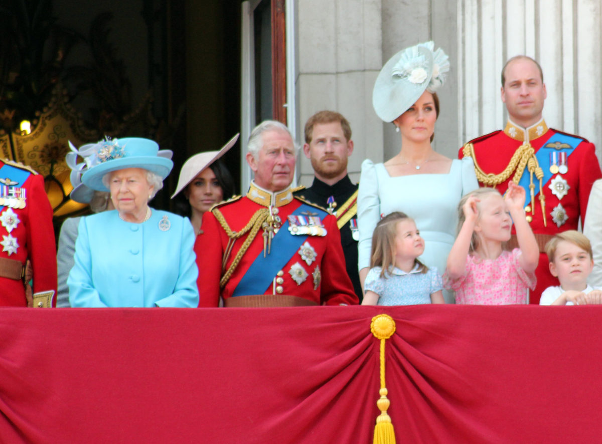 did the queen know prince harry and meghan were naming their daughter after her?