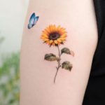 35 Sunflower Tattoos & Sunflower Tattoo Ideas