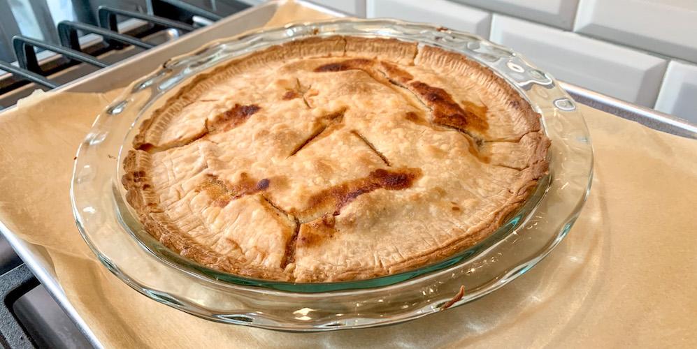 this apple pie recipe contains no apples