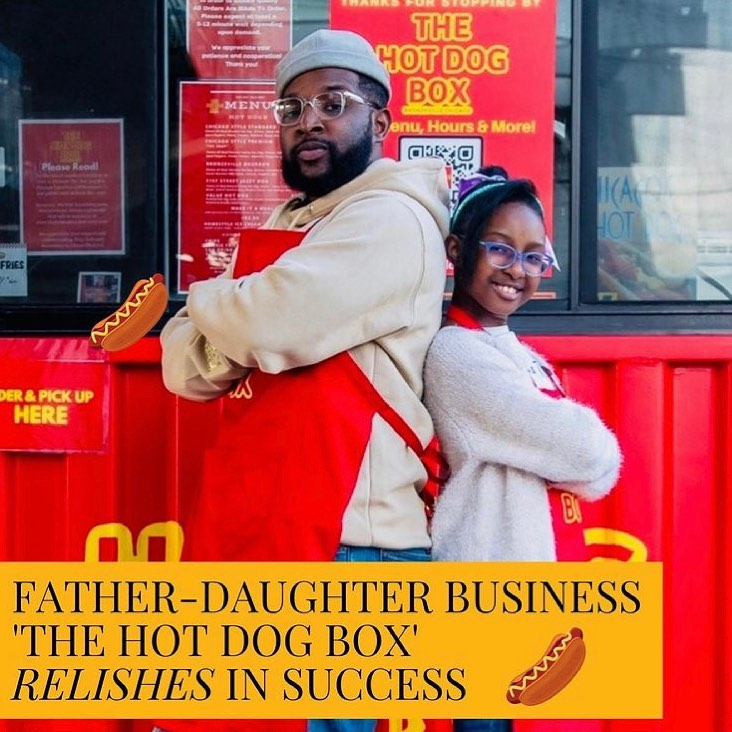 chicago father and daughter duo start hot dog business amid covid-19 pandemic3