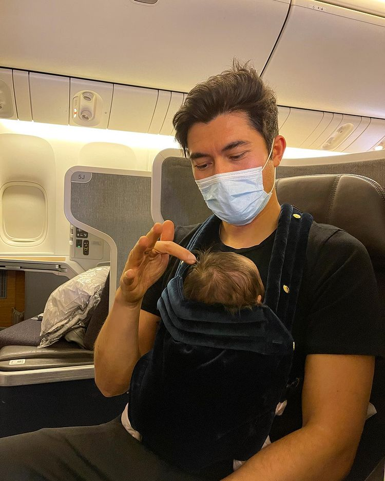 crazy rich asians' star henry golding shares photo of daughter after being away filming