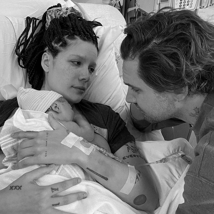 halsey and boyfriend alev aydin welcome their first baby, ender ridley