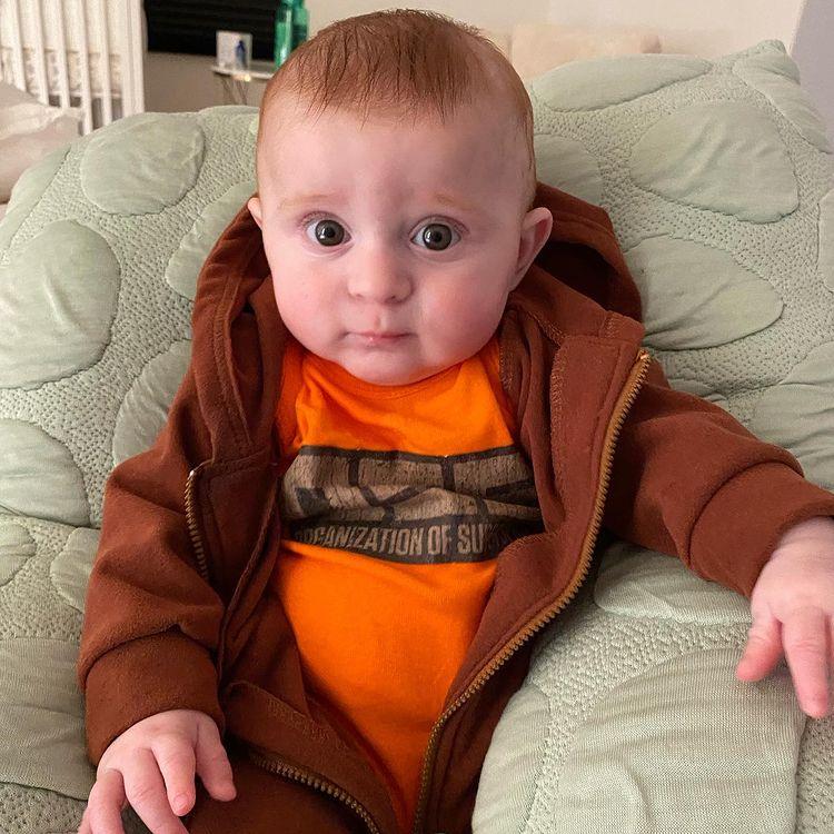 meghan trainor posts adorable photo of baby riley, daryl's 'mini-me'