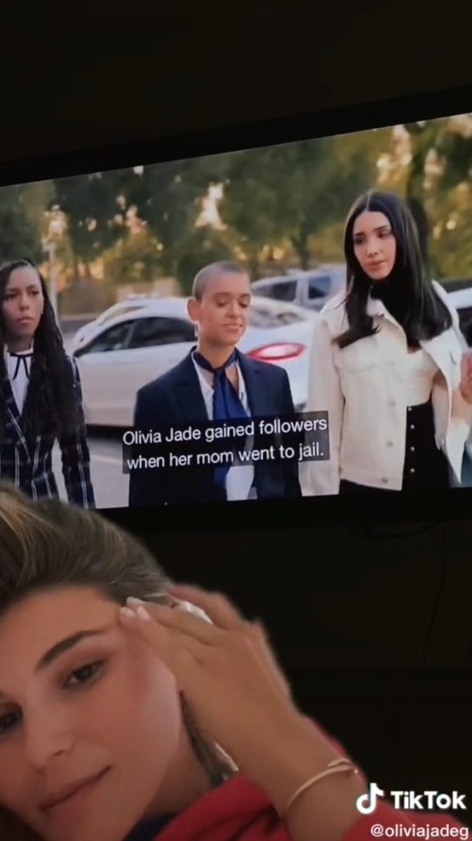 olivia jade creates tiktok slamming 'gossip girl' scene about her family and the college admissions scandal