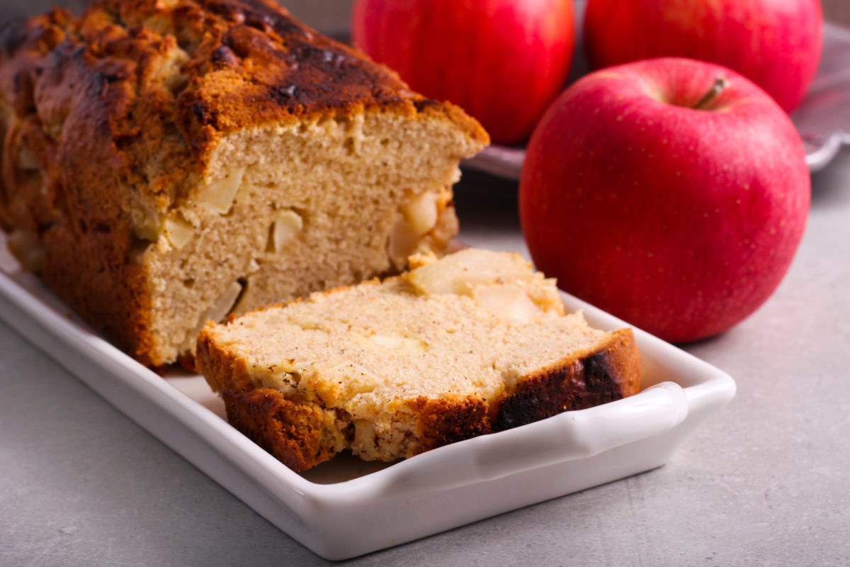 the apple bread recipe you didn't know you were missing!