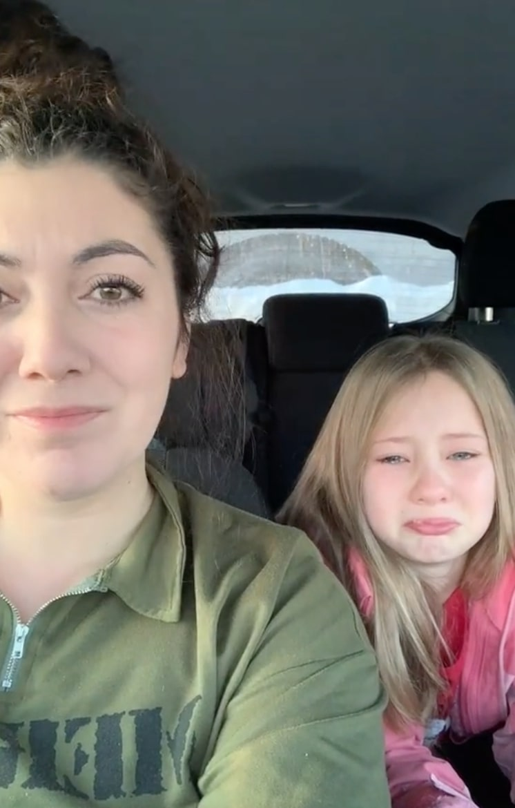 this little girl's reaction to stepmom singing to her will make you melt!