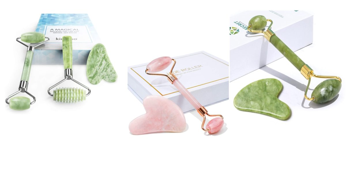 what is a jade roller and the gua sha and why you should use them?