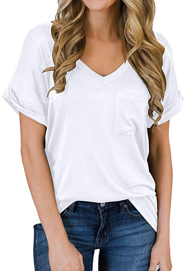 9 of the best women's t-shirts from amazon that are affordable and great for everyday wear