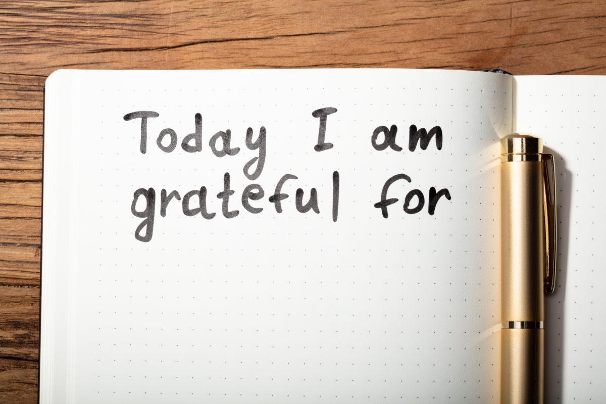 grateful self-esteem journal