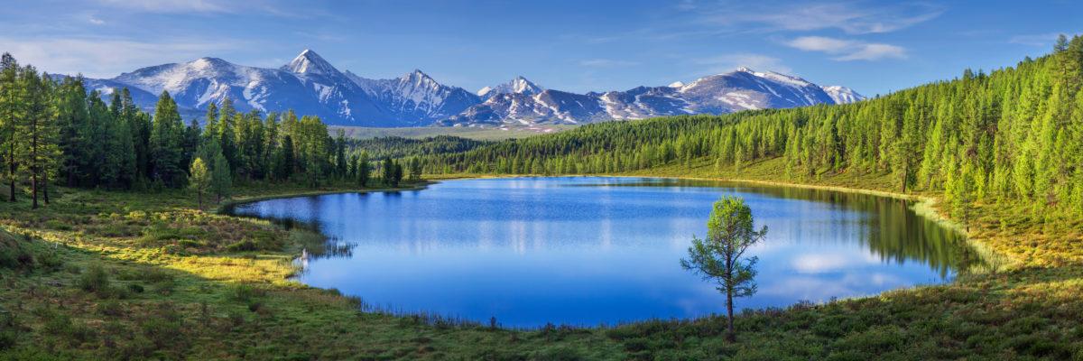 lake nature depression