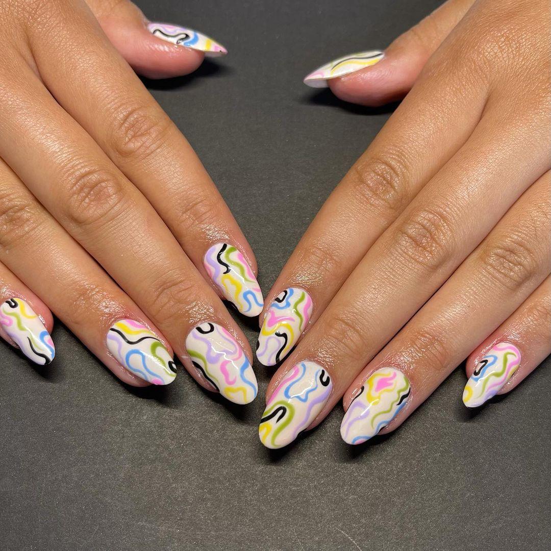 50 really cool nail art designs
