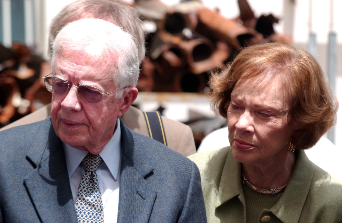 jimmy carter shares his secrets after 75 years of marriage to rosalynn