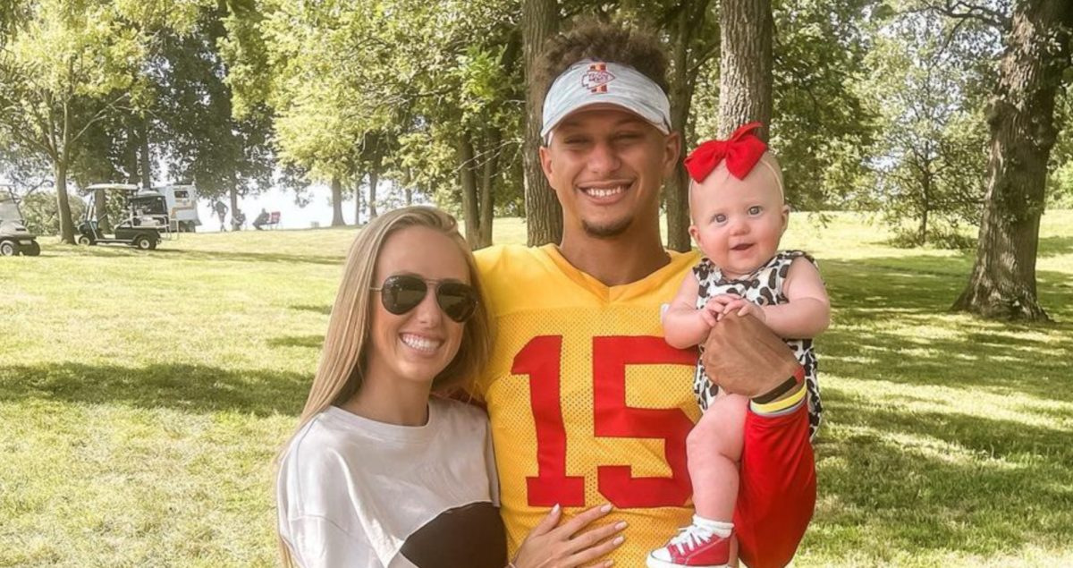brittany matthews reveals some of her best kept parenting secrets as her and patrick mahomes' little one grows